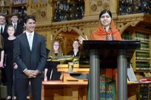 Malala Yousafzai honorary Canadian citizenship