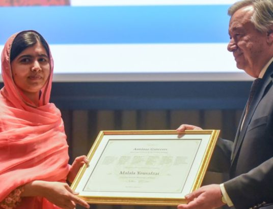 Malala Yousafzai Named UN Messenger of Peace