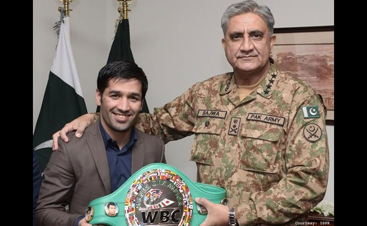 Pakistani becomes world number one boxer in flyweight category