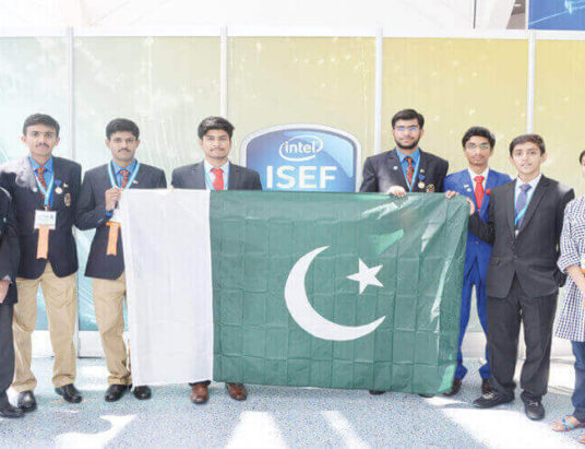 Pakistani students at their innovative best - Pakistan Shining