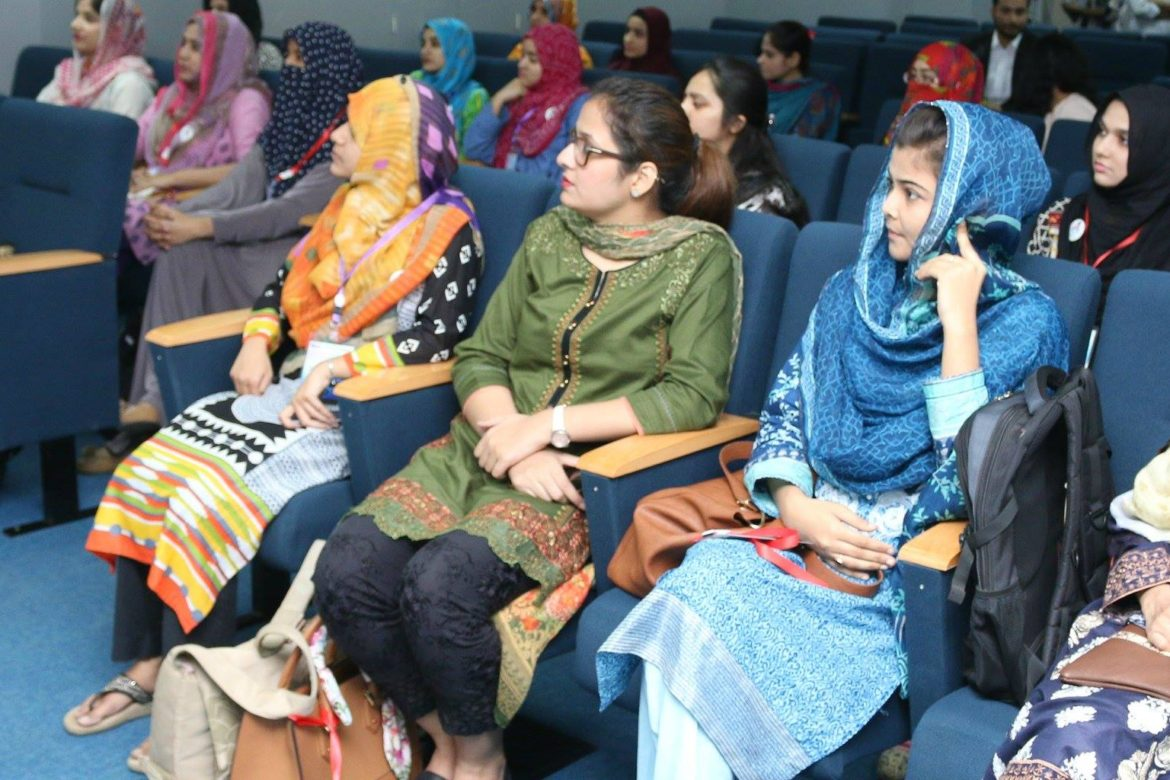 10Pearls University organizes a hackathon for women in tech Pakistan Shining