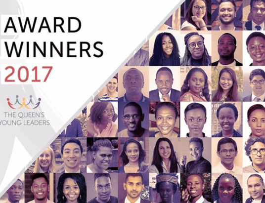 Pakistani student wins Queen's Young Leaders Award