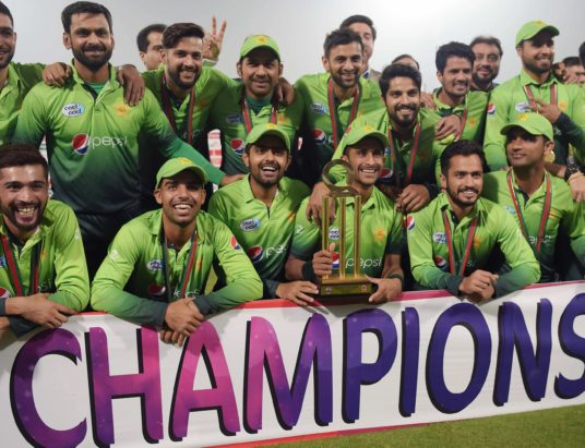 Pakistan reclaim top spot in ICC T20 rankings