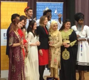 dania hassan Pakistani teenager with Emerging Young Leaders Award 2018