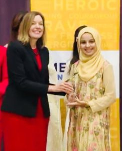 US State Department honours Pakistani teenager with Emerging Young Leaders Award 2018